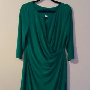Ralph Lauren green dress A120012